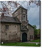 The Castle Of Vert-bois Bondues Acrylic Print