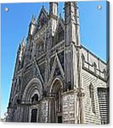 The Cathedral At Orvieto Acrylic Print