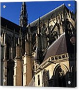 The Cathedral Basilica -  Amiens - France Acrylic Print