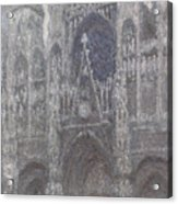 The Cathedral In Rouen Acrylic Print