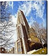 The Cathedral Of Learning 1 Acrylic Print