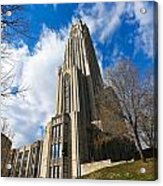 The Cathedral Of Learning 2g Acrylic Print