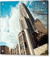 The Cathedral Of Learning 3 Acrylic Print