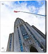 The Cathedral Of Learning 4 Acrylic Print