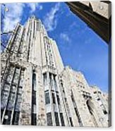 The Cathedral Of Learning 5 Acrylic Print