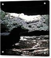 The Cave Is Not Dry  Acrylic Print