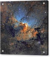 The Cave Nebula - Beauty In Space Acrylic Print