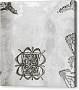 The Ceiling Design Acrylic Print
