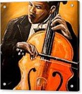 The Cello Player Acrylic Print
