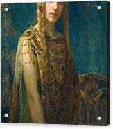 The Celtic Princess Acrylic Print