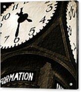 The Central Terminal Clock Acrylic Print