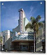 The Century Theatre In Ventura Acrylic Print