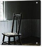 The Chair By The Window II Acrylic Print