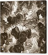 The Chaos, Engraved By Bernard Picart Acrylic Print