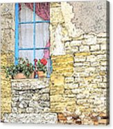 The Charme Of The Old Acrylic Print