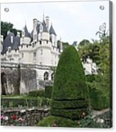 The Chateau's Towers View Acrylic Print