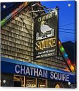 The Chatham Squire Acrylic Print