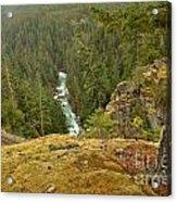 The Cheakamus River Gorge Acrylic Print