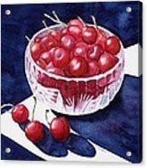 The Cherry Bowl Acrylic Print