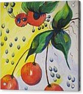 The Cherry Fairy Acrylic Print