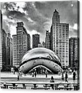 The Chicago Bean II Acrylic Print