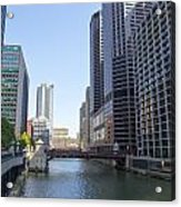 The Chicago River Acrylic Print