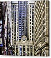 The Chicago Skyline Day-006 Acrylic Print