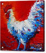 The Chicken Of Bresse Acrylic Print