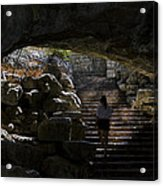 The Child Ascends Acrylic Print
