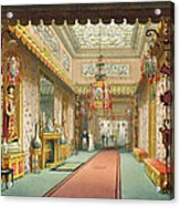 The Chinese Gallery, From Views Acrylic Print