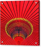 The Chinese Umbrella Acrylic Print by Farah Faizal