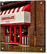 The Chocolate Factory Acrylic Print