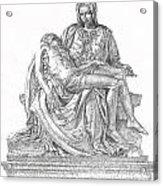 The Christ Acrylic Print