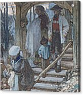 The Christening Gate In Lausanne, C.1861 Acrylic Print