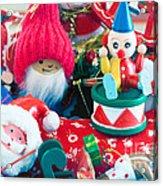 The Christmas Clown II Acrylic Print