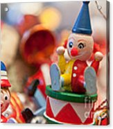 The Christmas Clown  Acrylic Print