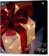The Christmas Gift Acrylic Print