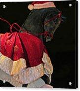 The Christmas Horse Acrylic Print