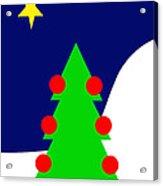 The Christmas Star Acrylic Print