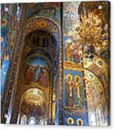 The Church Of Our Savior On Spilled Blood - St. Petersburg - Russia Acrylic Print