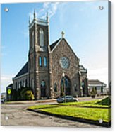 The Church Of Saint Patrick Acrylic Print