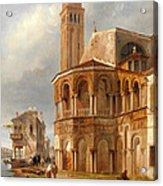 The Church Of Santa Maria E San Donato In Murano Acrylic Print