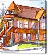 The Church On Shepherd Street 3 Acrylic Print by Kip DeVore