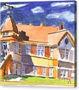 The Church On Shepherd Street II Acrylic Print