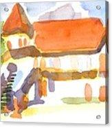 The Church On Shepherd Street V Acrylic Print