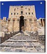 The Citadel In Aleppo Syria Acrylic Print