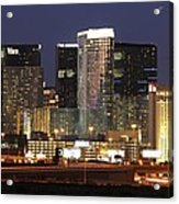 The City Center At Las Vegas Strip Acrylic Print