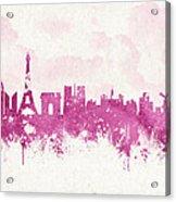 The City Of Love Acrylic Print