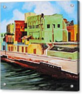 The City Of Matanzas In Cuba Acrylic Print