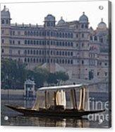 The City Palace, India Acrylic Print